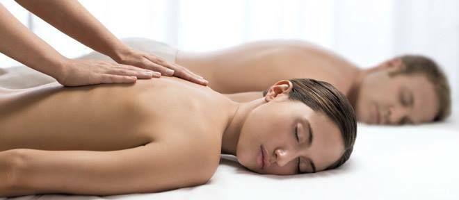 Massage sensoriel en duo